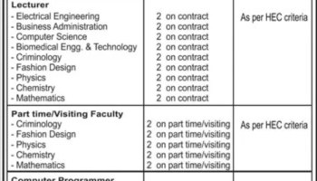 The Next College Multan Jobs Today September 2020 For Assistant Professor Senior Lecturer Physiotherapy Latest Punjab Educativz