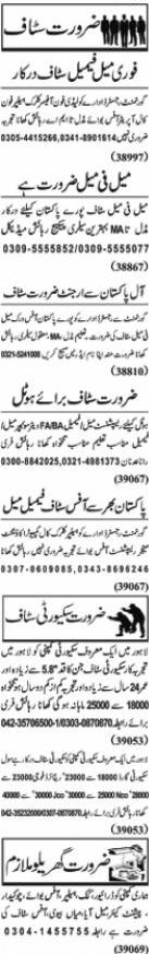 Today Jang Jobs 22 February 2021 Classified Jobs Adv