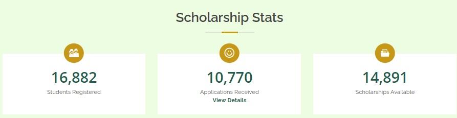 Scholarhip Stats of Rehmatulill-Alameen Program 2021