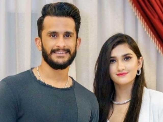Cricketer Hassan Ali's wife shared a photo of her daughter