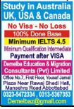 Australia/UK/USA/Canada Admissions April 2021 Aaj Newspaper