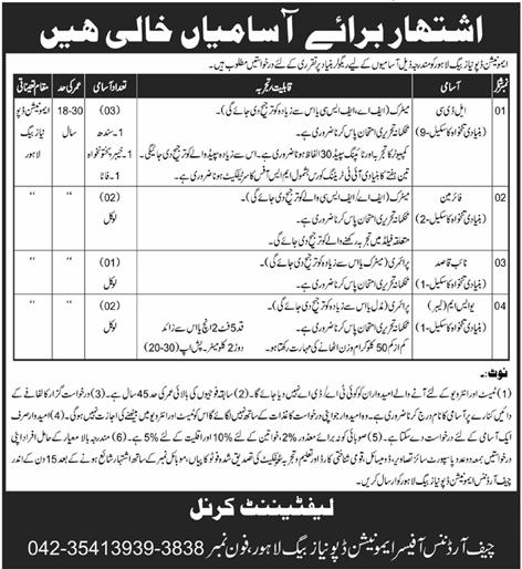 Latest Naib qasid, LDC, Fireman, USM jobs May 2021 advertisement