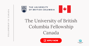 UBC Fellowship in Canada 2021-Fully Funded