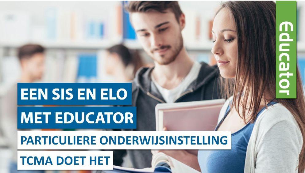Particuliere Onderwijsinstelling met een SIS en ELO van Educator