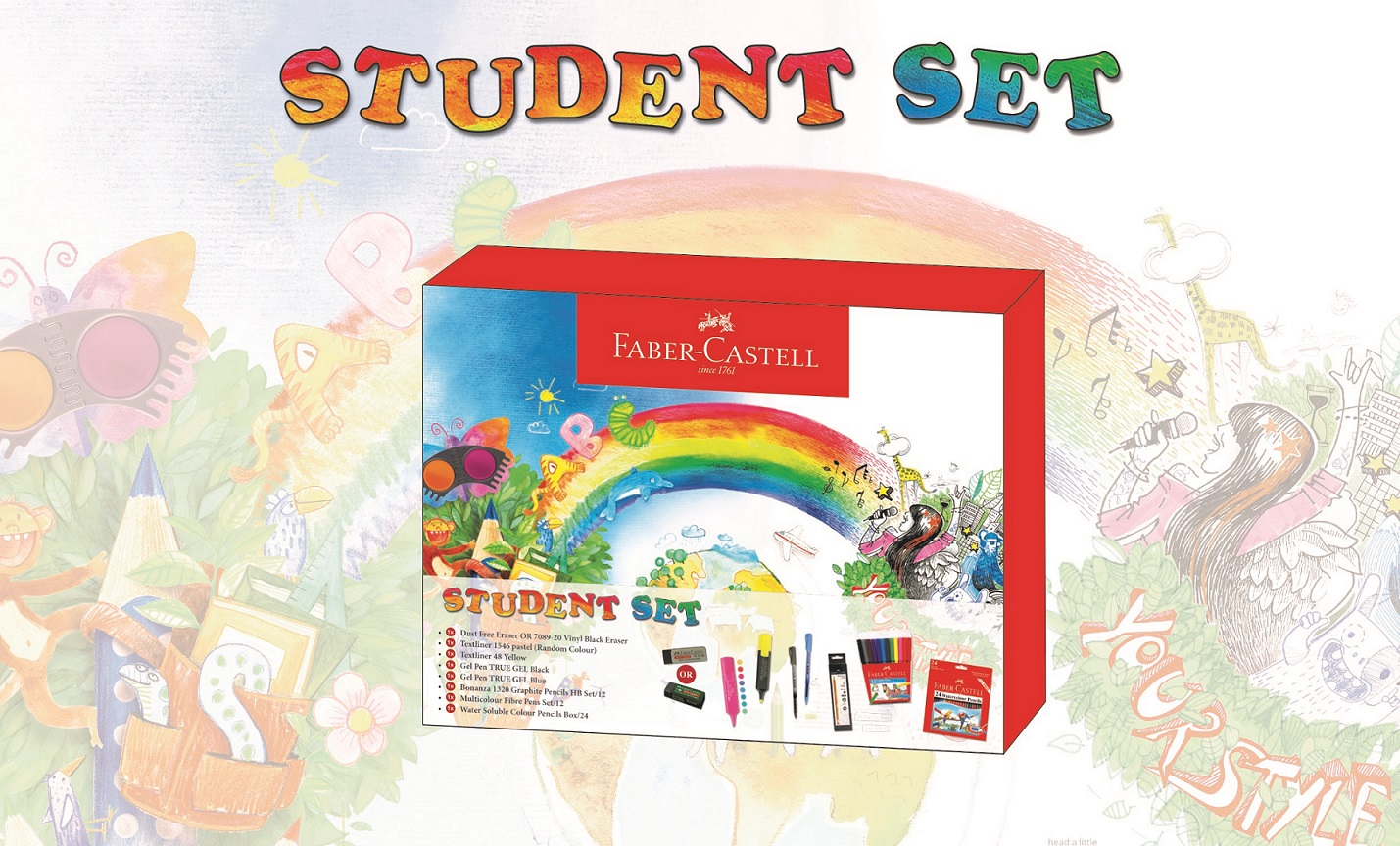 Faber-Castell - Back to School Student Set