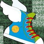 zapatillas voladoras 150x150 Cuento infantil: Una máquina de nubes
