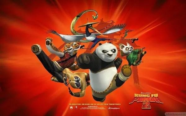 Peliculas infantiles, Kun Fu Panda