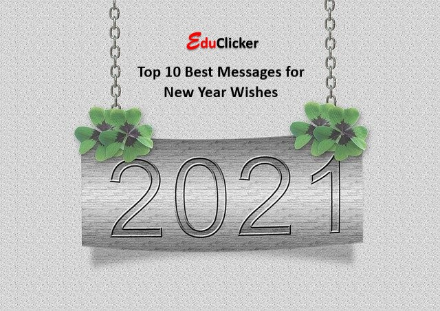 Top 10 Best Messages for New Year Wishes