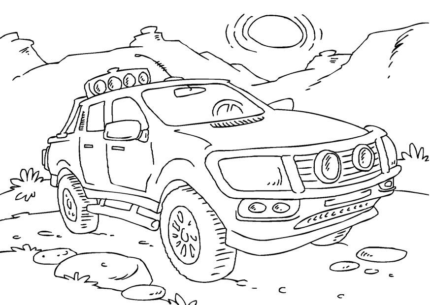 Coloriage Camionnette Img 27166