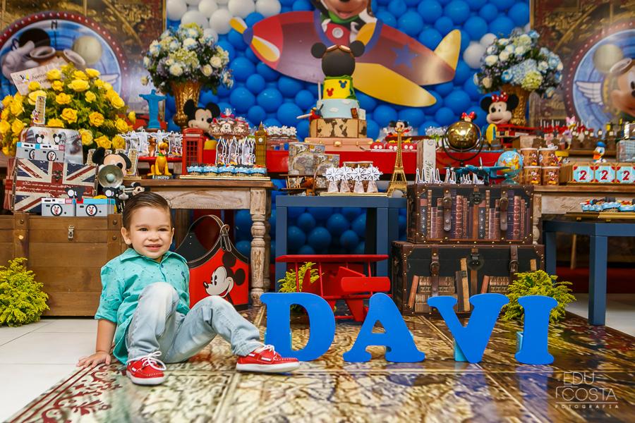 Davi 02 Anos | Aniversário Infantil