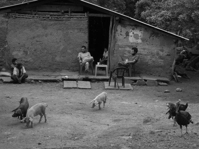 Una tarde de chicha Tacuba, Ahuachapán, El Salvador