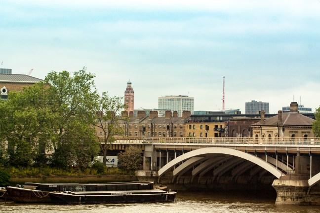 The bridge River Thames, London, UK