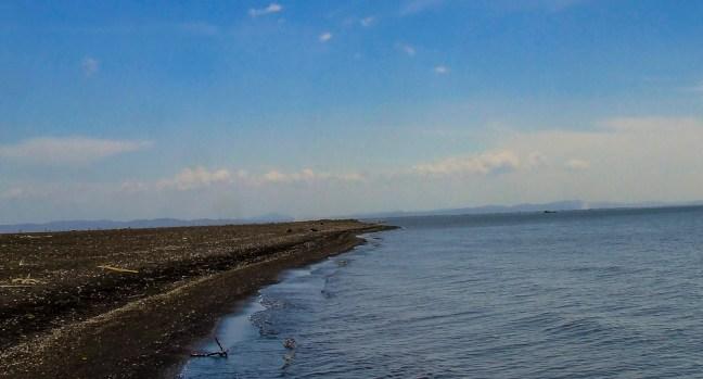 The lake's beach Ometepe, Rivas, Nicaragua