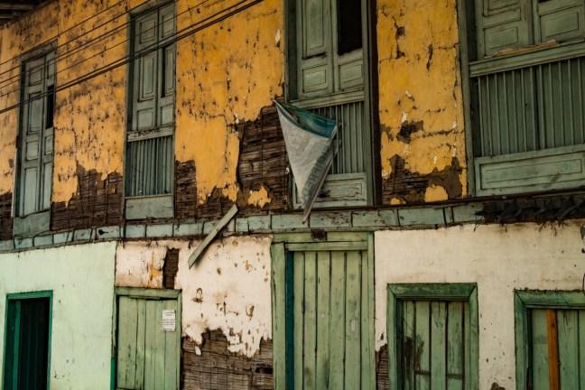 Collage de fachadas Marsella, Risaralda, Colombia