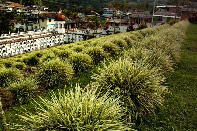 El cementerio Marsella, Risaralda, Colombia