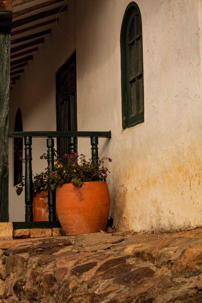 Los jarrones Villa de Leyva, Boyacá, Colombia
