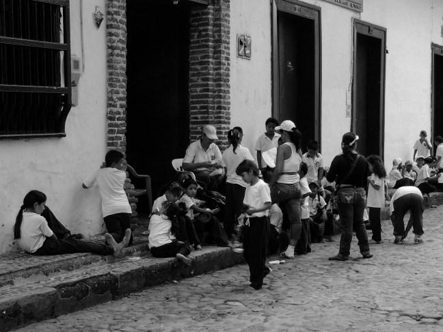 Sin zapatpos Santa Fe de Antioquia, Antioquia, Colombia