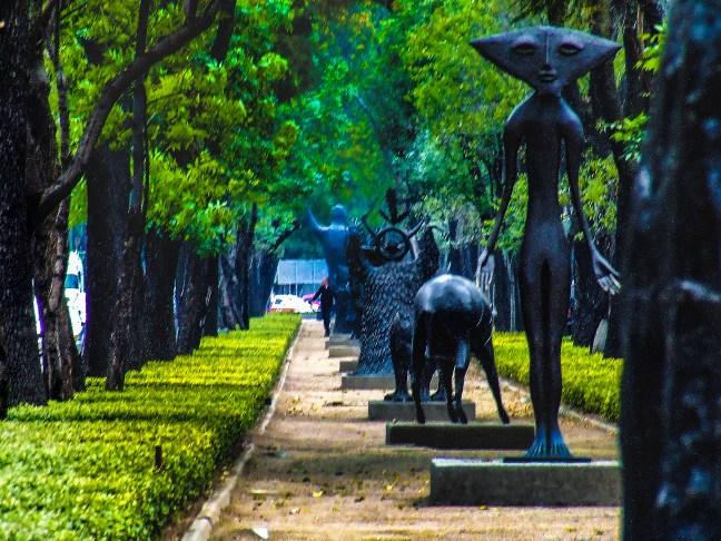 Arte al paso Paseo de la Reforma, ciudad de México, México
