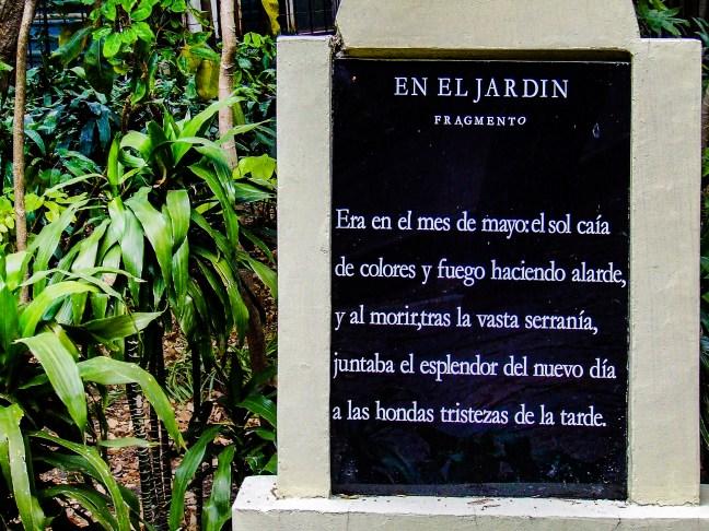 En el jardín Bosque de Chapultepec, ciudad de México, México