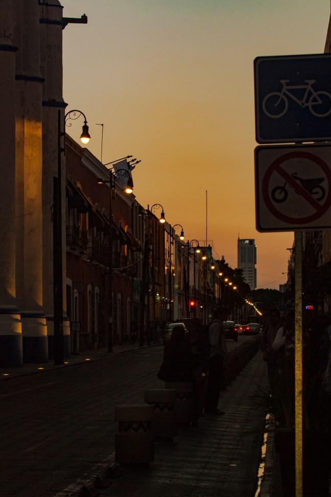 La vía de las bicis Puebla, Puebla, México