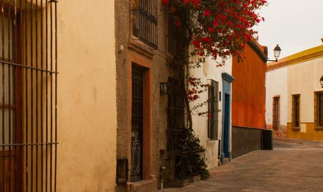 Fachadas del centro Querétaro, Querétaro, México