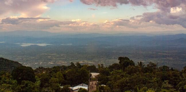 El represo Alegría, Usulután, El Salvador