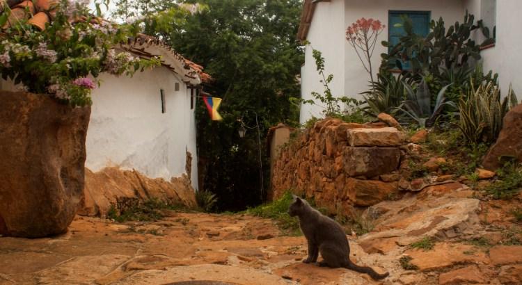 Meditación profunda sobre la vida Barichara, Santander, Colombia