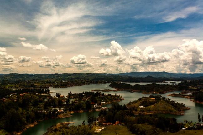 Atardeceres de Gautapé Gautapé, Antioquia, Colombia