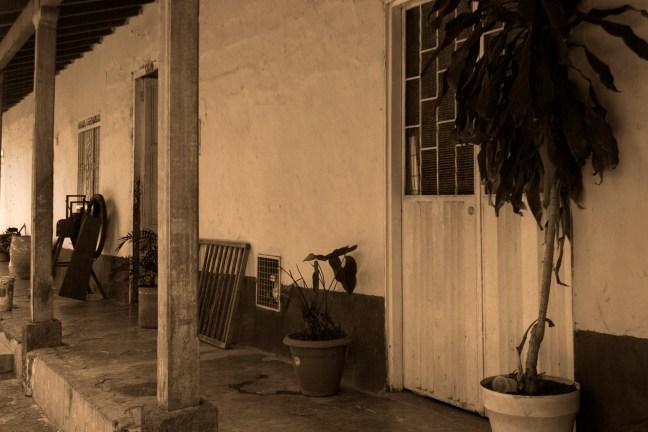 El pórtico de la entrada Confines, Santander, Colombia