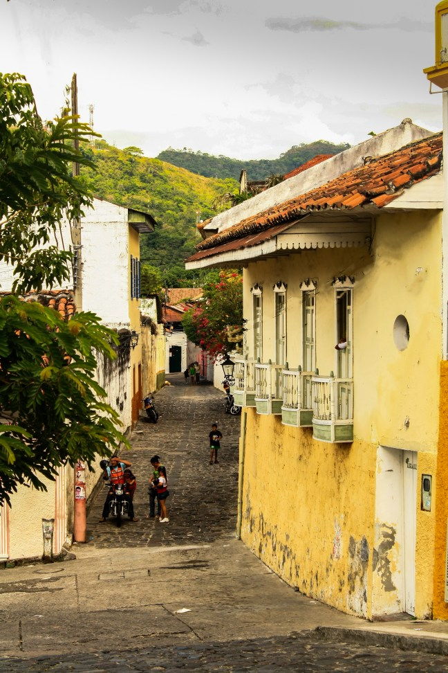Por la tarde Honda, Tolima, Colombia