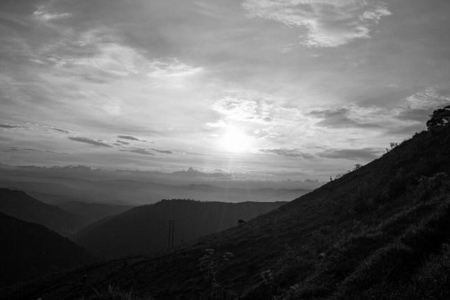 Vistas de la cordillera Pueblo Bonito, Caldas, Manizales