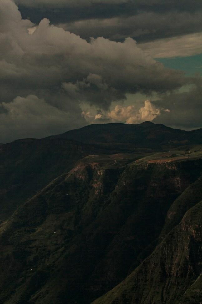 La planicie Cañón del Río Suarez, Santander, Colombia