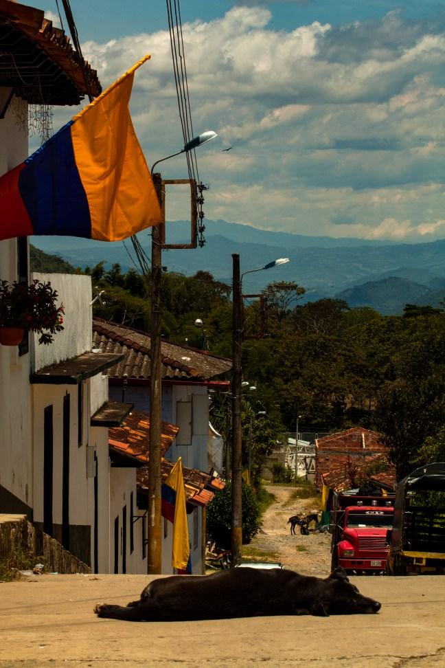 La siesta Guadalupe, Santander, Colombia