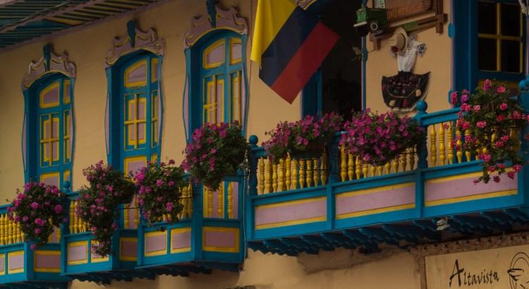 Fachadas del pueblo Filandia, Quindío, Colombia