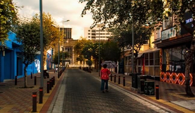 Calles de La Mariscal Quito, Pichincha, Ecuador