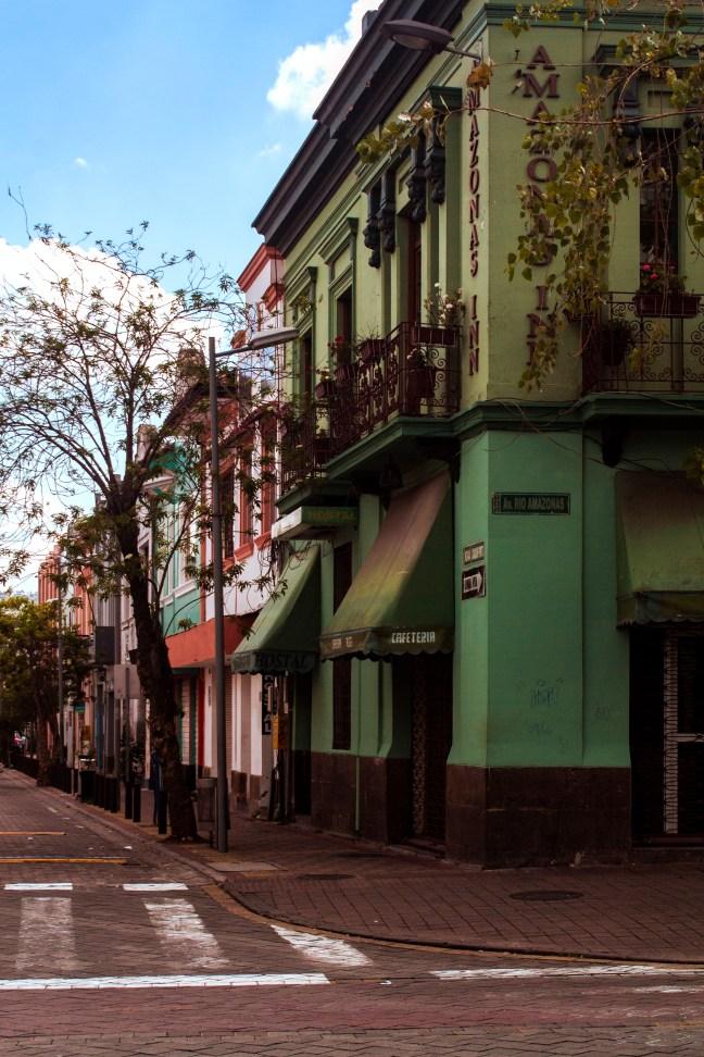 La Avenida Río Amazonas Quito, Pichincha, Ecuador