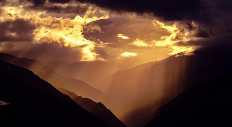 Vista al cielo Coroico. Los Yungas, Bolivias