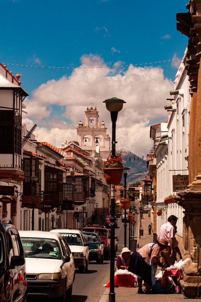 Calle Nicolas Ortiz, Sucre, Chuquisaca, Bolivia