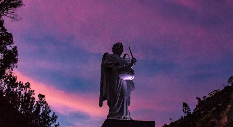 Los ángeles de Las Lajas Ipiales, Nariño, Colombia