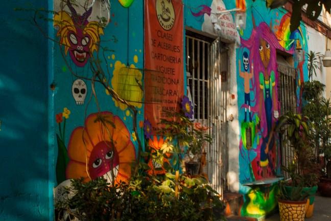 Fachada ciudad de México, CDMX, México