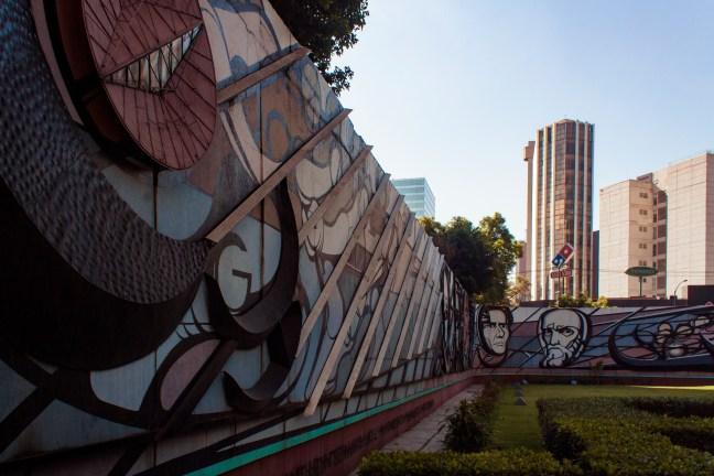 Polyforum Siqueiros Ciudad de México. CDMX, México