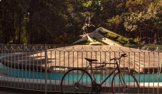 Bicicletas en el parque Ciudad de México, CDMX, México
