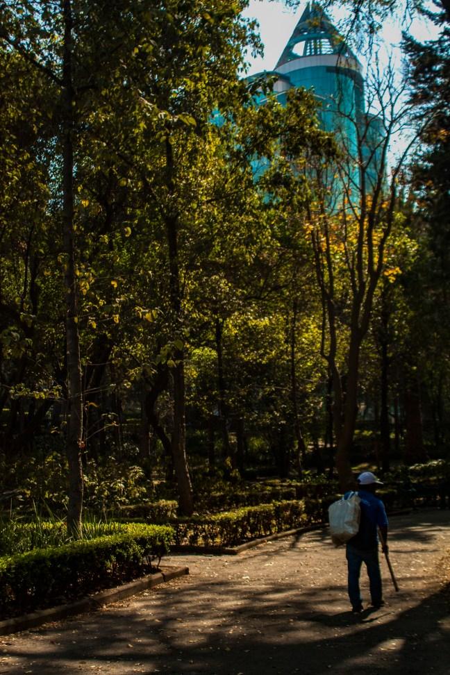 Parque Hundido Ciudad de México CDMX, México