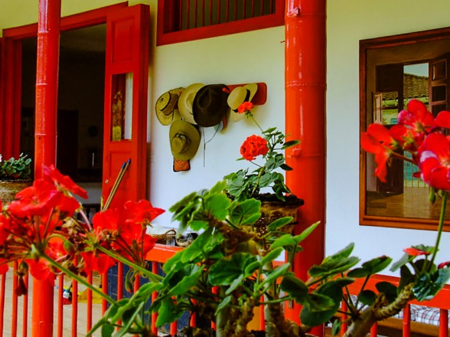 La terraza Chinchiná, Caldas, Colombia