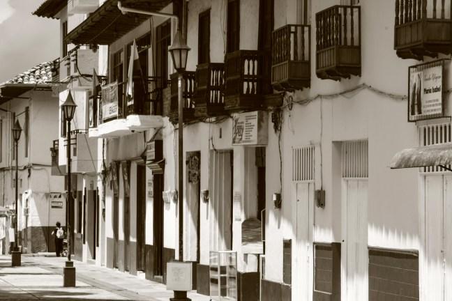 Regresando del colegio Ríosucio, Caldas, Colombia