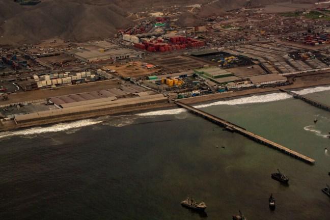 El puerto Callao, Lima, Perú