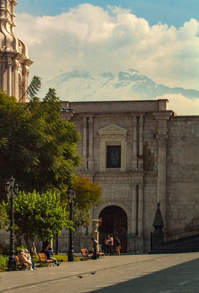 Plaza de Armas ciudad de Arequipa, Arequipa, Perú