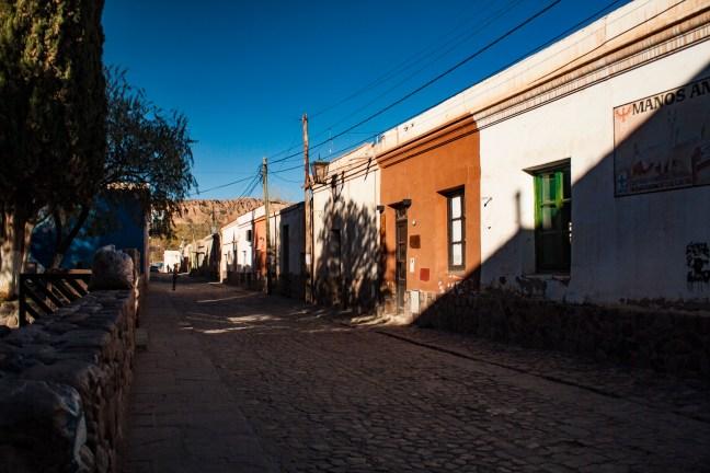 Sombras de la tarde Humahuaca, Jujuy, Argentina