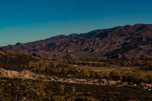 Vista de Quebrada Peña Blanca, Humahuaca, ARgentina