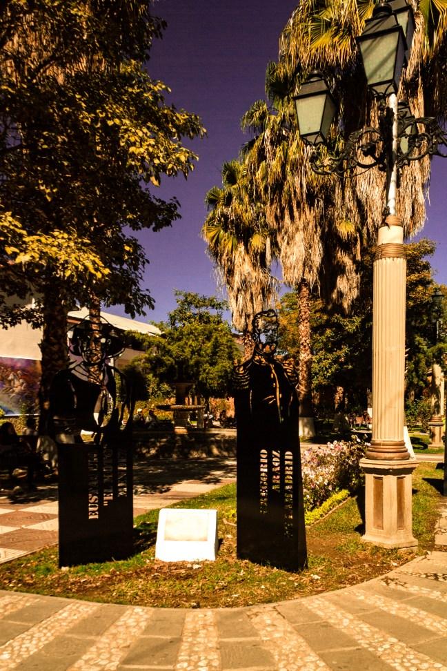 Los Próceres de Plaza Lizardi Tarija, Tarija, Bolivia